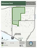 Halverson Park map icon 124x160