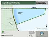 Maple Beach Tidelands map icon 160x124