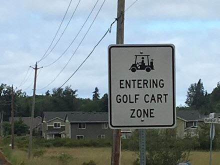 Golf Cart Zone1