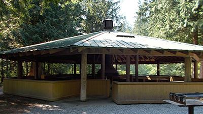Silver Lake Maple Creek Picnic Shelter Exterior