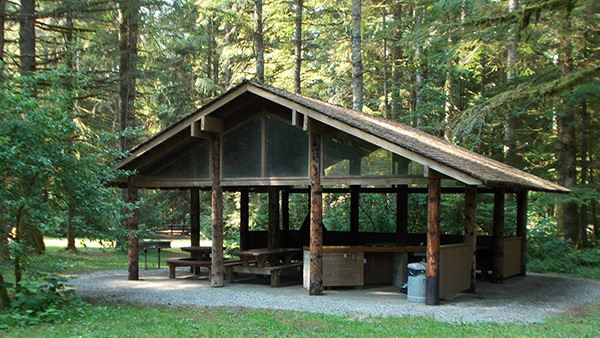 Silver Lake Red Mountain Picnic Shelter Header