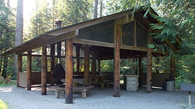 Silver Lake Red Mountain Picnic Shelter North Exterior 2
