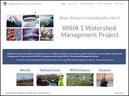 New WRIA1 Website Thumbnail Image