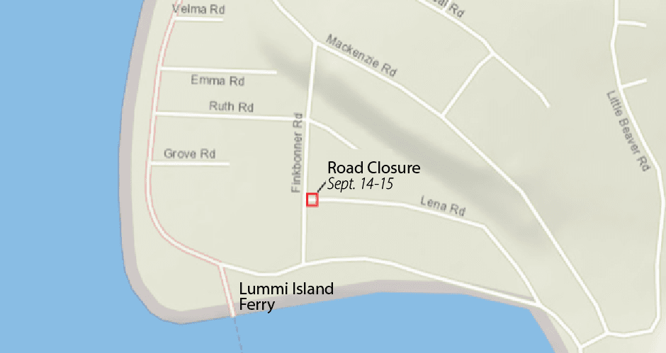 Lena Road Closure
