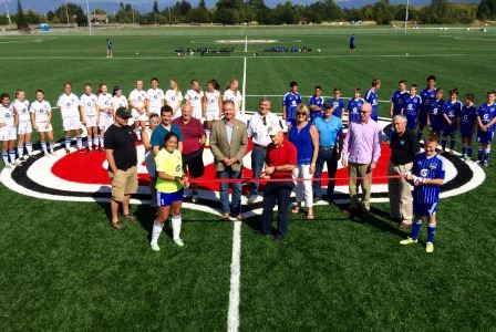 Ribbon Cutting at Phillips 66 Soccer Park